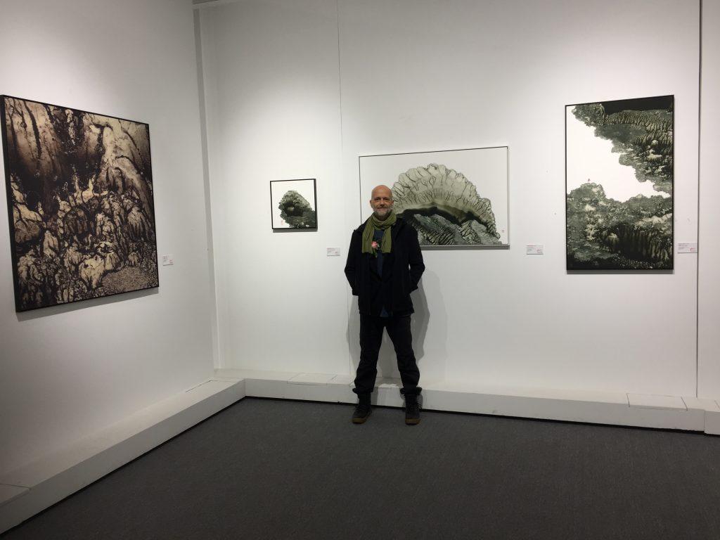 Atmani Blok at HongYi art center, Chongqing, China